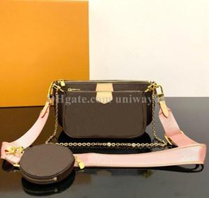 Mulher Bag Original Box código Data bolsa de número de série de couro genuíno