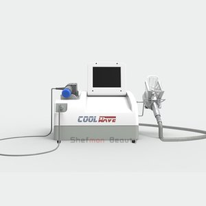 2020 più nuovo onde d'urto radiale con maniglia cryolipolysis / macchina portatile cryolipolysis d'urto per la perdita weigth