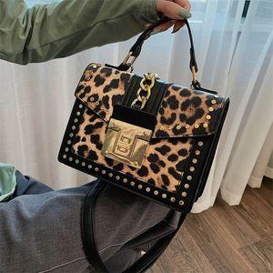 Leopard Pattern Small Square Women New Style Women Fashion Printing Women Shoulder Bag Versatile Messenger Bag Ph-cfy20052553