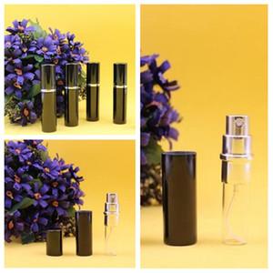 noir chaud 5ml Mini bouteille de parfum Voyage Portable Rechargeables ForSpray flacon pompe parfum de cas Empty Bottles Accueil AccentsT2I5712