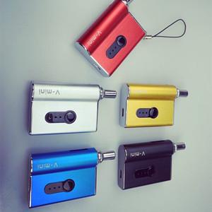 Hot V-Mini Box Mod 450mAh Batería Vape Mod 0.5 / 1.0ml Cartucho Voltaje variable Adaptador magnético Vape Mod Original