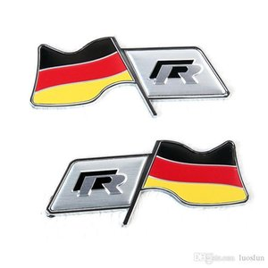 Applicable to the public R modified German flag racing flag leaf board   fuel tank stickers   car stickers decorative sleeve