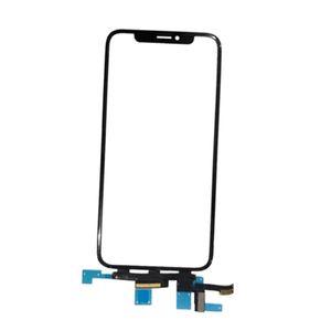 Para iPhone X / 10 visor de vidro Vidro dianteiro Substituir digitador Touch Screen digitalizador Quadro