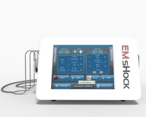 2 EM 1 eréctil dispositivo onda de choque disfunção ED / inquietação EMS tratamento máquina de emagrecimento
