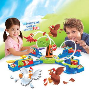 China de Hot divertido plástico popular Niños montaña rusa de juguete caliente nuevos productos eléctrico bucle aviones equilibrio avión robar pollos