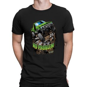 Rock Crawler Truck Green Tshirts Fun Creative Newest Big Sizes T Shirt For Men Spring Top Tee Fitness Anlarach Formal