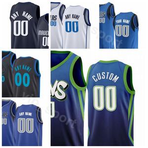 2020 serigrafiado barato Mujeres Jóvenes Hombres Jersey Sport 77 41 11 6 30 al por mayor de la ciudad de Ganado Blanco Azul Negro Número Nombre