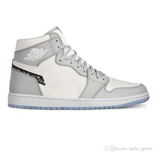 Beste Qualität D Air Jordan Retro AJ 1 High OG 1s 2020 neue Art und Weise Turnschuhe LuxuxMens Frauen-Basketball-Schuh-Sport-Trainer mit Box