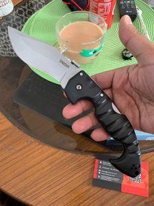 بارد الصلب karambit سكين المتقشف dogleg الطي سكين Aus-8 بليد غريفوري مقبض التكتيكي التخييم الصيد بقاء السكاكين أدوات عيد الميلاد edc