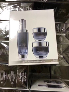 New Genifique Youth Activating Cream Concentrate 3pcs Set 50ml Face Cream + 15ml Eye Cream + 50ml Facial Essence Night Serum Lotion