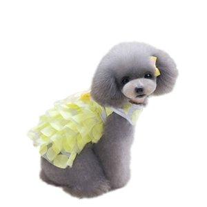 New Fashion and Popular high quality Pet Dog Clothes Cotton Net Veil Skirt Pet Dog Princess Tutu Dress Y6
