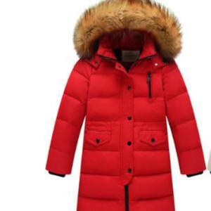 Kinder S Winter-Daunenjacken für Jungen Outer Wear verdicken Kleidung Baby-Mantel-Kind Parka Kleidung Doudoune Manteau Enfant