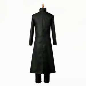 Darker than Black Kuro no Keiyakusha Hei black robes Li Shenshun Cosplay Halloween Men uniform Jackets stage performance