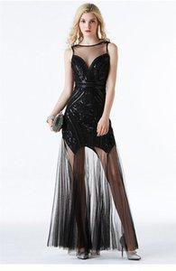 디자이너 메쉬 드레스 장식 조각 민소매 여성 의류 패션 뷰티 스타일 Weedings 캐주얼 의류 여자 저녁 파티