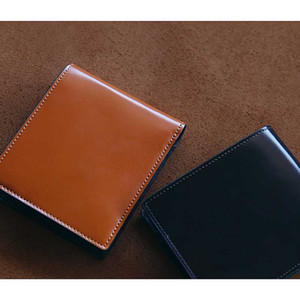LANSPACE men's crup leather wallet handmade short purse high quality wallet