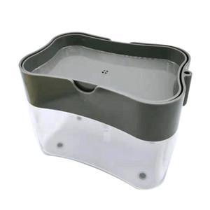 1 مجموعة الصحافة الاطباق فرشاة وعاء قطعة أثرية مربع الإسفنج السائل مسح الجمع التلقائي بالإضافة السائلة أداة التنظيف