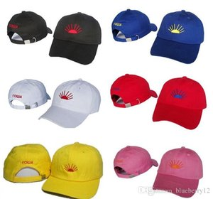 Gosha Caps 7 Colors Embroidery Ball Cap Fashion Adjustable Cotton Hats for Men Women Couple Accessories Free Shipping
