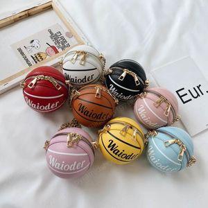 neue Basketball-Designer Mädchen sackt Art und Weise Kinder Taschen Childrens bauscht sich Ketten Kinder Umhängetasche Mädchen Handtasche Umhängetasche Mädchen
