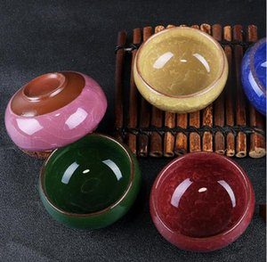 Glace en céramique pot Crack petit bol d'huile essentielle de maquillage beauté bricolage visage du visage Masque Bowl SN05 expédition rapide