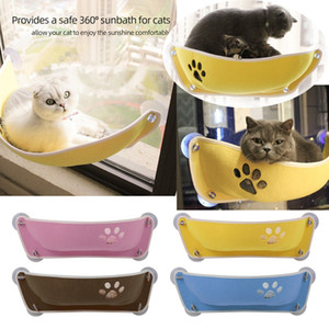 Hanging Pet Cat Hammock Bed Basket Sunny Wall Window Mount Beds Suction Cup Comfortable Perch Shelf Seat Beds for Cats Dogs Rest House