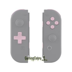 Soft Touch Sakura Pink Replacement D-pad ABXY Keys SR SL L R ZR ZL Trigger Full Set Buttons w  Tools for Nintendo Switch