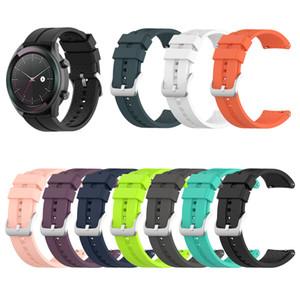 22mm Widt Banda de reloj para Huawei reloj GT (46 mm) / 2 reloj clásico del deporte de la correa Amazfit Pace / Stratos GTR 47mm inteligentes Trackers Más colores