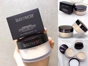 Laura Mercier Face Powder Loose Setting Powder Long-lasting Moisturizing Face Loose Powder Maquiagem Translucent Makeup Skin colour 3 Colors