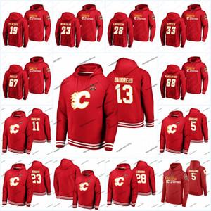 Matthew Tkachuk Calgary Flames 2019 Heritage Classic camisa do hoodie Johnny Gaudreau Andrew Mangiapane Mark Giordano Mikael Backlund Lindholm