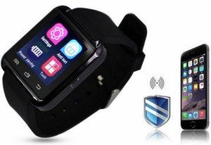 Schermo Bluetooth smart Guarda U8 Bluetooth Smartwatches tocco slot Smart orologio da polso con la carta SIM per il telefono Android con la scatola di vendita al dettaglio