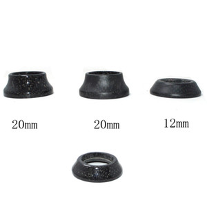 Full Carbon fiber bicycle parts headset spacer mtb bike washer top cap road cycling fork cover 1 1 8'' 8.5 20 30 40mm