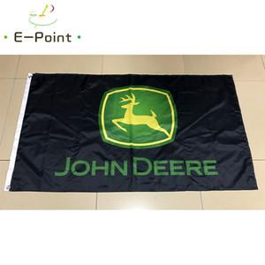 John Deere Автомобиль Флаг 3 * 5 футов (90 см * 150 см) Полиэстер флаг Баннер украшения летающий дом сад флаг Праздничные подарки