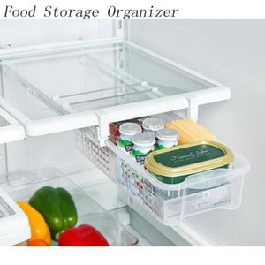 Fridge Mate Refrigerator Pull Out Bin Drawer y Home Organizer Snap on Drawer para guardar Instalación rápida y fácil No se requieren herramientas