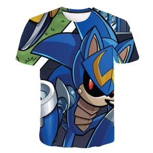 Nave de la gota Rick y Morty por Jm2 arte 3D camiseta hombres niños camiseta verano Anime manga corta Camisetas Tees o-cuello Tops camiseta de dibujos animados