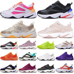nike m2k tekno gel PARIS M2k Tekno JEL Elektrikli Volt Moda Tenis Ayakkabıları Bayan Eğitmenler Parçacık Bej Klasik Üçlü Siyah Beyaz Erkek Spor Sneakers 36-45