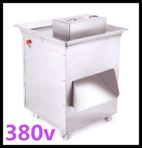 Envío libre 1500w 380v extra grande máquina de corte de carne QD vertical, máquina de cortar carne, cortador de carne, de 1500 kg / hr de la máquina de procesamiento de carne