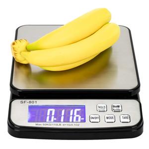 0 кг / 1 г высокое качество цифровой почтовый масштаб ЖК-дисплей портативный прочный кухонные весы корабль из США