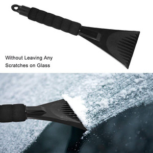Practical Car Windshield Ice Scraper Squeegees Cone-Shaped Car Window Ice Snow Cleaner