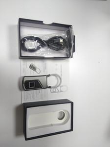 2018New Smart Fingerprint Lock Portable Sécurité Cadenas Étanche Antivol Cadenas pour Golf sac valise Gym Casier Placard Tiroir Porte