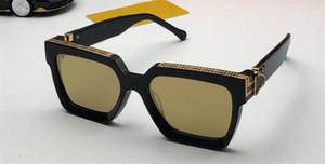 Calidad de casos Gold Classic Chapado Hombres Mujeres Moda Moda Hombres Populares Gafas de sol Summer Style Laser 1165 con UV400 Eyewear 96006 Top para com jlir