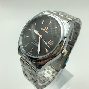 Mne orologi di lusso di modo di cuoio degli uomini analogiche del quarzo Casual Cool Orologio da uomo Orologi da polso Montre homme