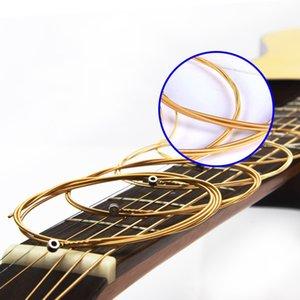 O arco-íris guitarra coloridas bronze Cordas 6pcs Classical Set corda da guitarra Pure Copper Cordas E-A para Guitarra clássica guitarra acústica Folk