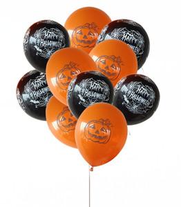 Supplies 12 polegadas Halloween Balões Partido Latex Decoração da abóbora Aranha do partido Balloon Festival Impresso Web Decor Dia das Bruxas