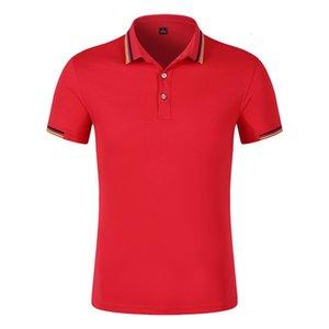 2019 Pubblicità Serve Aurora Cotton Polo superiore senza fodera dell'indumento risvolto T T-shirt manica corta Diy laurea Servire