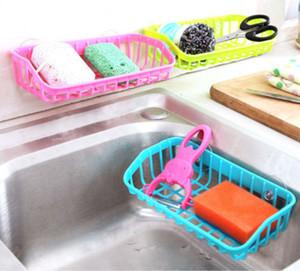 Küche Badezimmer Corner Convenient Abtropfgestell Regal Mit Saug Dusche Rack-Organizer Cup Storage Wall Basket