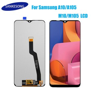 Incell de alta calidad de la pantalla LCD digitalizador de montaje para Samsung Galaxy A10 A105 partes de la pantalla táctil LCD Negro para Samsung M105 M10