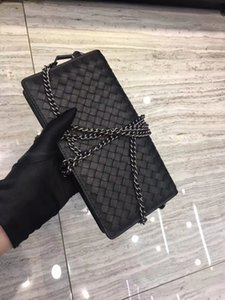 Excellent quality wholesale fashion luxury designer genuine leather crochet bags shoulder bag handbag women wallet chains bags mini purse
