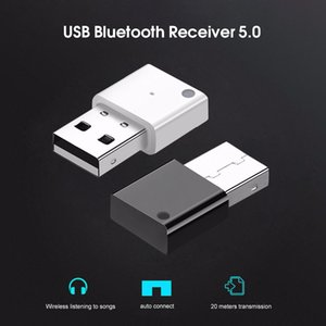 Bluetooth Receiver USB Car Kit Audio Receiver Bluetooth 5.0 Dongle Adapter for MP3 music Player Wireless Mouss keyboard