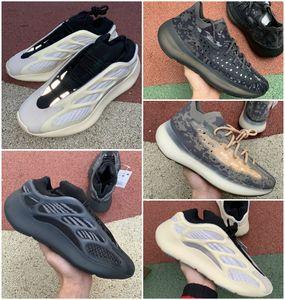 Hot 2020 de haute qualité 700 Kanye West Chaussures de course Vanta 700 V3 Alva Azaël 3M réfléchissant V2 380 Mist Alien Hommes Femmes Entraîneur Chaussures de sport