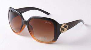 Sonnenbrille große Rahmen-Sonnenbrille Sommer voller Bilderrahmen Qualität anti uv400 Luxus Frauen 3163