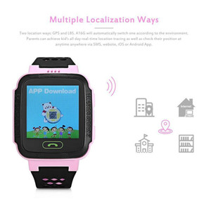 Touch Screen Y21 LBS Tracker WatchAnti-lost Children safety Smart watch LBS Tracker Wrist Watchs SOS Call For Android IOS With Remote Camera